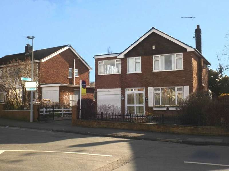 4 Bedrooms Detached House for sale in Manor Way, Crewe