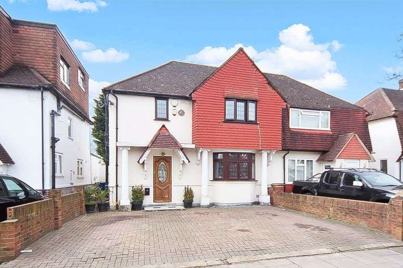 3 Bedrooms Semi Detached House for sale in Bennetts Avenue, Greenford