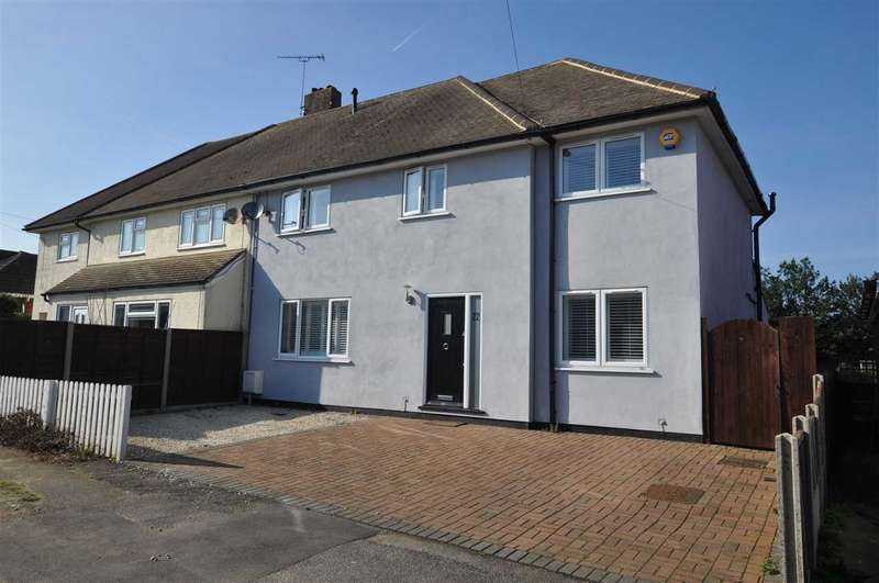 4 Bedrooms Semi Detached House for sale in Osborne Road, Brentwood