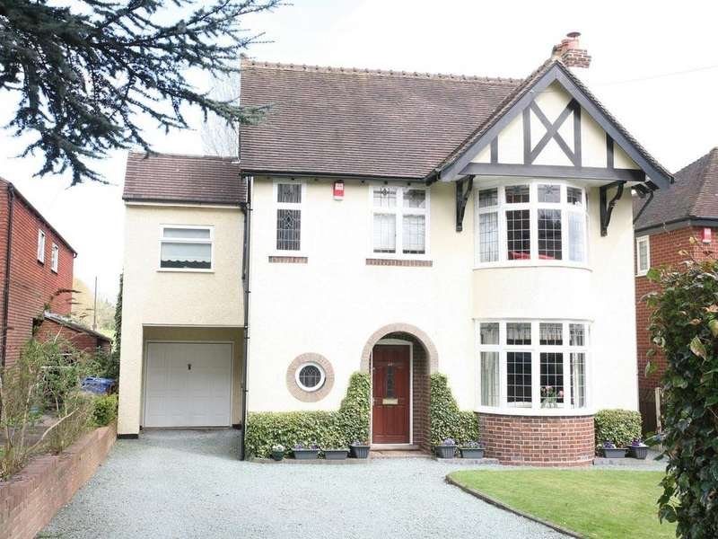 4 Bedrooms Detached House for sale in 80 Old Penkridge Road, Cannock, WS11 1HY