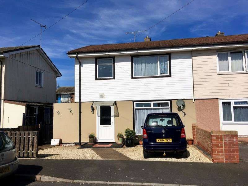 3 Bedrooms Semi Detached House for sale in Holford Road, Taunton, Somerset