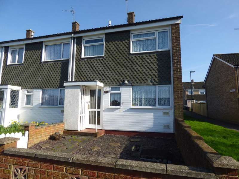 3 Bedrooms End Of Terrace House for sale in Arrow Close, Luton