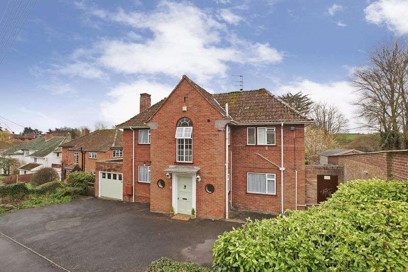 4 Bedrooms Detached House for sale in Wembdon Hill, Wembdon