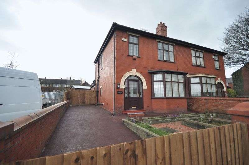 3 Bedrooms Semi Detached House for sale in Bury New Road, Heywood
