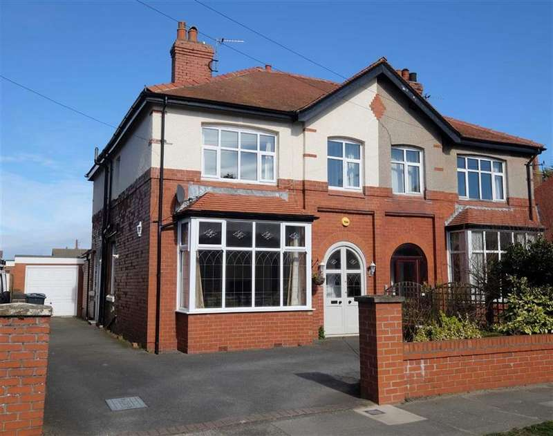 3 Bedrooms Semi Detached House for sale in Albany Road, Ansdell, Lytham St Annes
