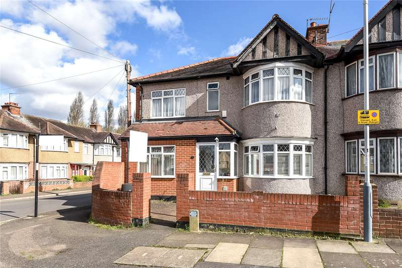 4 Bedrooms End Of Terrace House for sale in Hartland Drive, Ruislip, Middlesex, HA4
