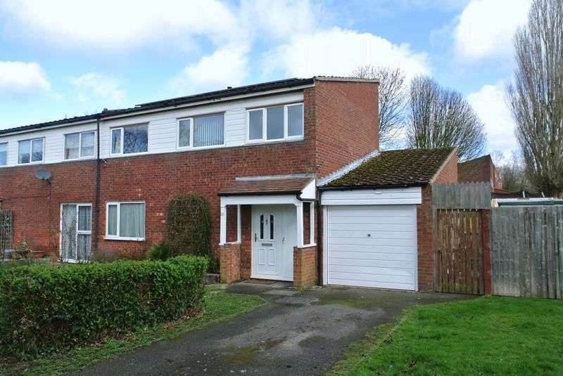 3 Bedrooms Semi Detached House for sale in Freeman Close, Greenleys, Milton Keynes