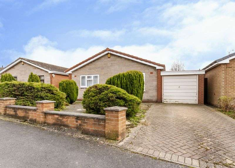 2 Bedrooms Detached Bungalow for sale in Highfield Way, Ripley