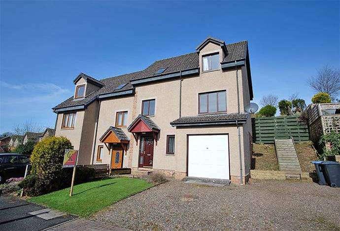 4 Bedrooms Semi Detached House for sale in 19 Fairways, Melrose, TD6 9HL