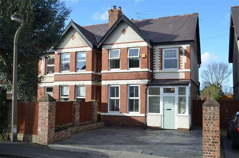 4 Bedrooms Semi Detached House for sale in Berwick Road, Little Sutton, CH66