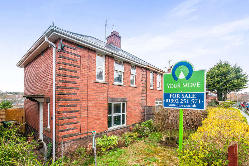 3 Bedrooms Semi Detached House for sale in Hoker Road, Exeter, EX2
