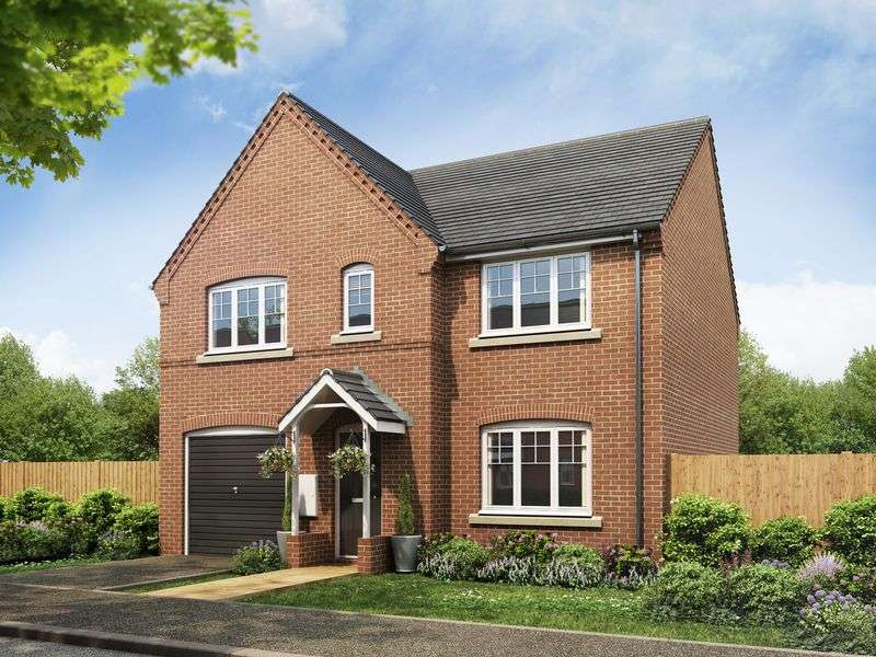 4 Bedrooms Detached House for sale in Plot 49, The Winster at Fairways Park, West Hill Road, Retford, DN22 7RT