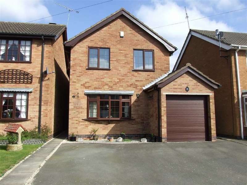 3 Bedrooms Detached House for sale in Alice Close, Bedworth