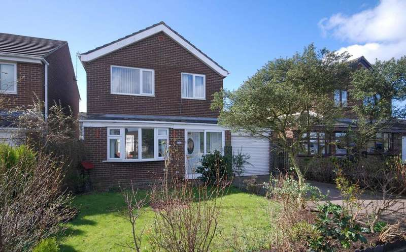 3 Bedrooms Detached House for sale in Bradley Close, Ouston