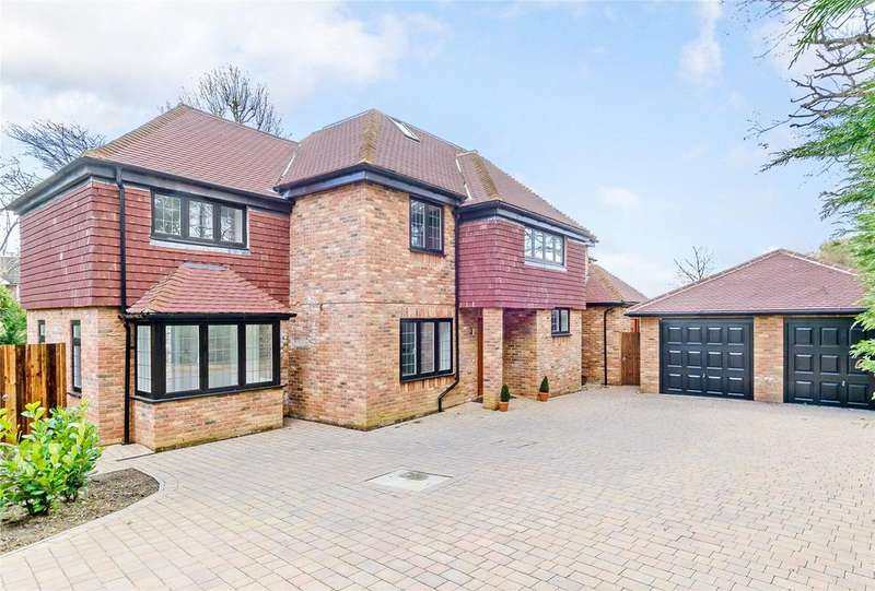 5 Bedrooms Detached House for sale in Green Lane Close, Harpenden, Hertfordshire, AL5