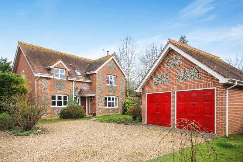 4 Bedrooms Detached House for sale in TANNERS LANE, WINTERBOURNE EARLS, SP4