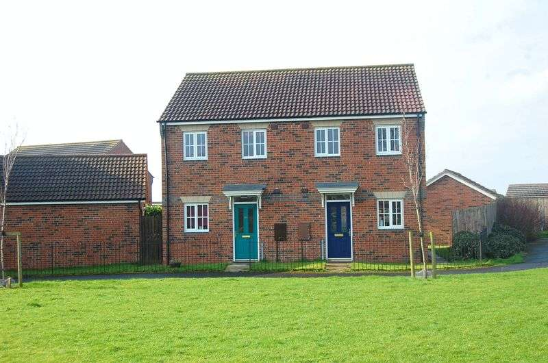 2 Bedrooms Semi Detached House for sale in Trinity Gardens, Northallerton