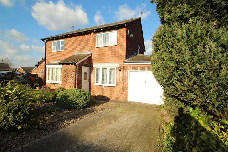 2 Bedrooms Semi Detached House for sale in Sandy Acres Drive, Waterthorpe