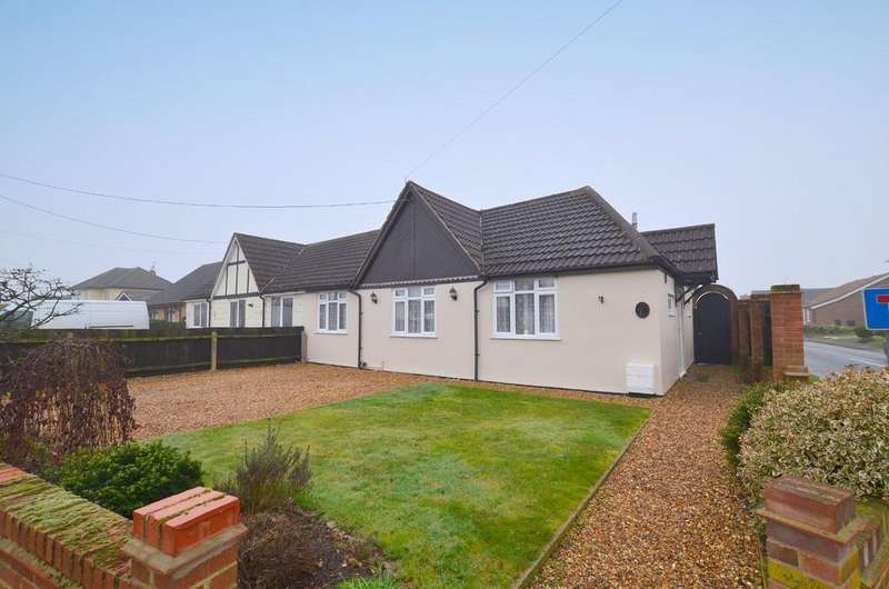 3 Bedrooms Semi Detached Bungalow for sale in Cambridge Road, Kesgrave
