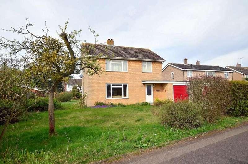 4 Bedrooms Detached House for sale in School Lane, East Bergholt
