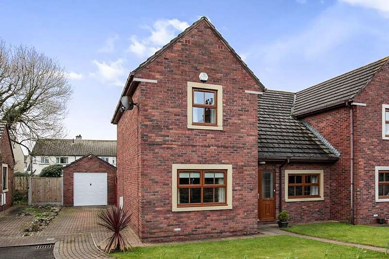 3 Bedrooms Semi Detached House for sale in Greenwood Garth Thursby, Carlisle, CA5