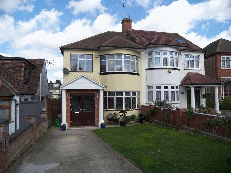 4 Bedrooms Semi Detached House for sale in STRADBROKE GROVE, CLAYHALL IG5