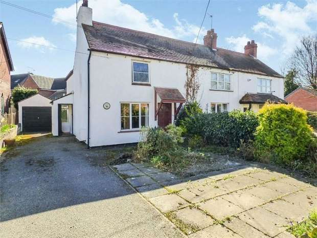 2 Bedrooms Semi Detached House for sale in Bangor Road, Overton, Wrexham
