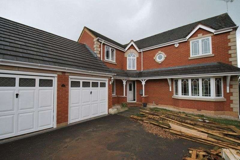 5 Bedrooms Detached House for sale in Lilacvale Way, Coventry
