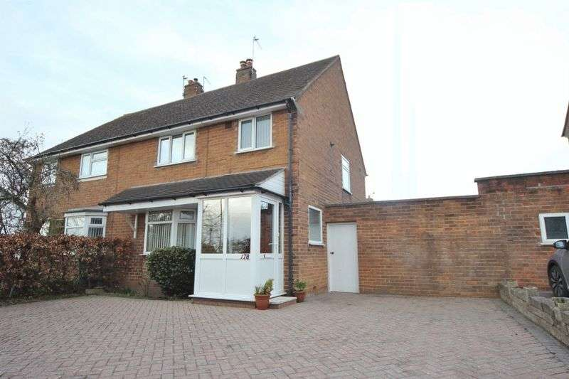 3 Bedrooms Semi Detached House for sale in Irby Road, Pensby, Wirral