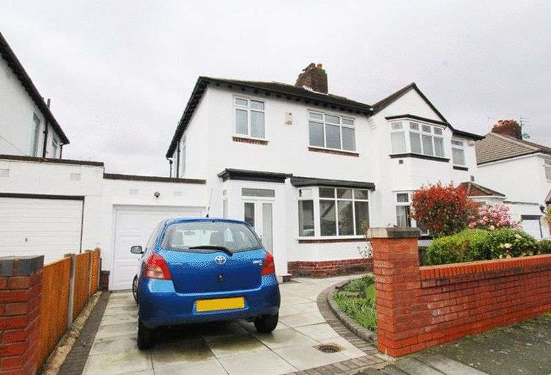 3 Bedrooms Semi Detached House for sale in Childwall Mount Road, Childwall, Liverpool, L16