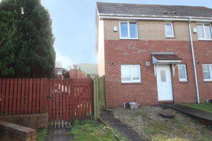 3 Bedrooms End Of Terrace House for sale in Strachur Crescent, Glasgow