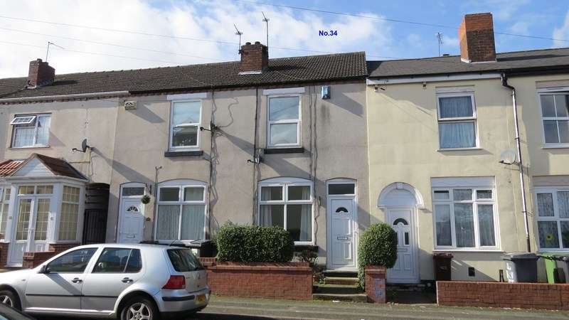 2 Bedrooms Terraced House for sale in Brevitt Road, Blakenhall, Wolverhampton