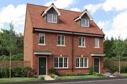 3 Bedrooms Detached House for sale in Heathlands, Hind Heath Road, Sandbach, Cheshire