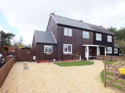 3 Bedrooms Semi Detached House for sale in Norse Cottage, Pompian Brow, Bretherton, Leyland