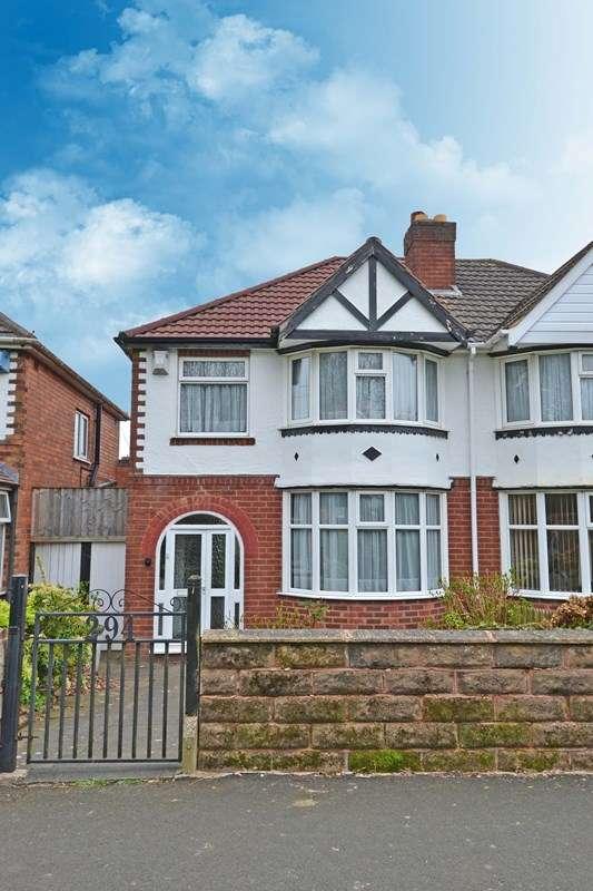 3 Bedrooms Semi Detached House for sale in Lickey Road, Rednal, Birmingham