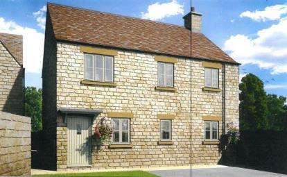 2 Bedrooms Maisonette Flat for sale in Amberley Park, London Road, Tetbury, Glos