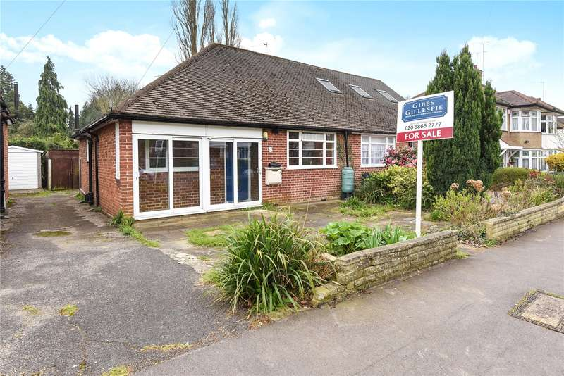 2 Bedrooms Semi Detached Bungalow for sale in Birchmead Avenue, Pinner, Middlesex, HA5