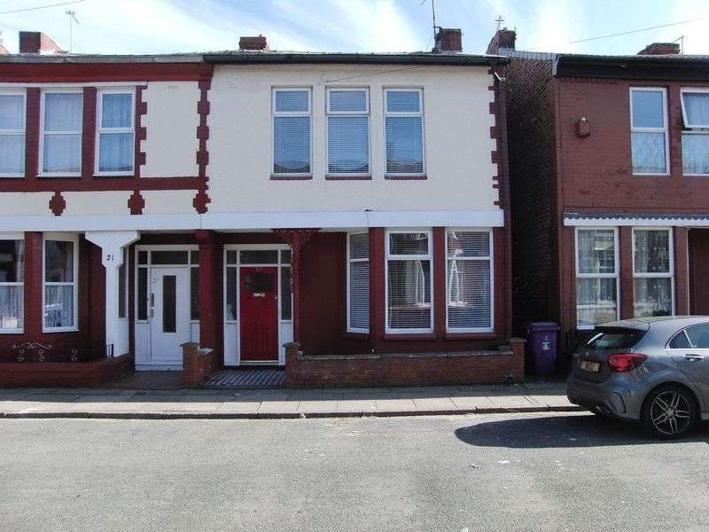 4 Bedrooms Semi Detached House for sale in First Avenue, Liverpool