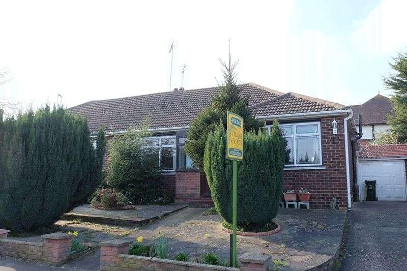 2 Bedrooms Semi Detached Bungalow for sale in Squires Way, Joydens Wood
