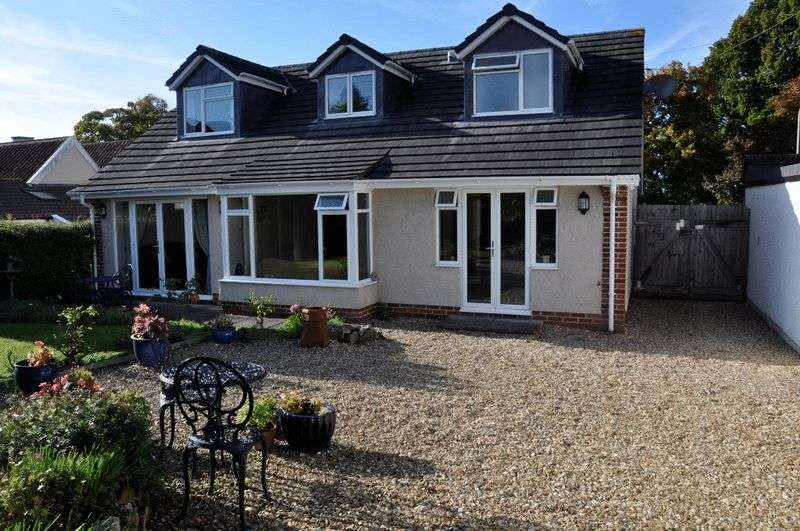 4 Bedrooms Detached House for sale in West Town Road, Backwell, (rear view shown)