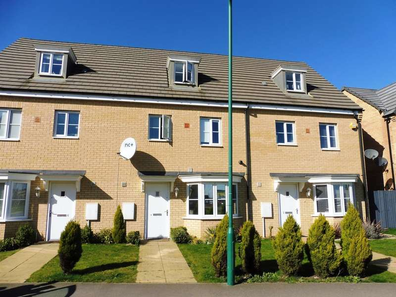 4 Bedrooms Town House for sale in Apollo Avenue, Peterborough, PE2