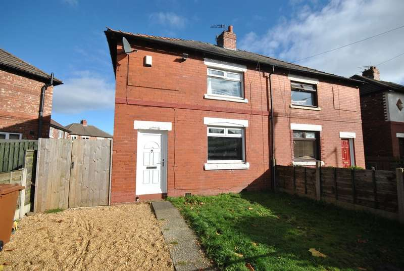 2 Bedrooms Semi Detached House for sale in Barnfield Road West, Adswood, Stockport