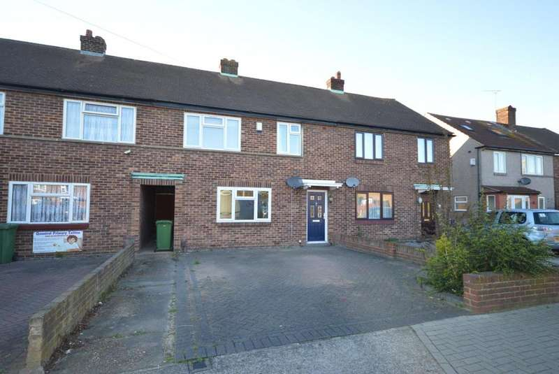 3 Bedrooms Terraced House for sale in Rosewood Avenue, Hornchurch, Essex, RM12