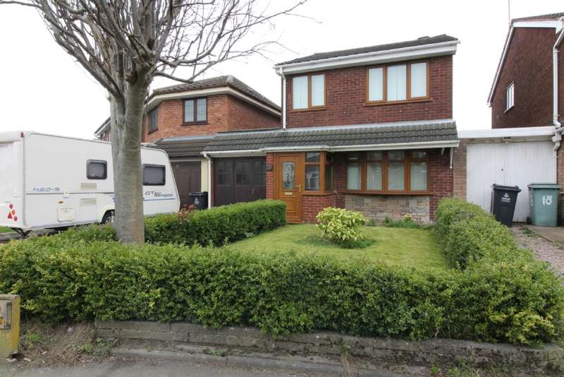 3 Bedrooms Detached House for sale in Ingledew Close, Bentley