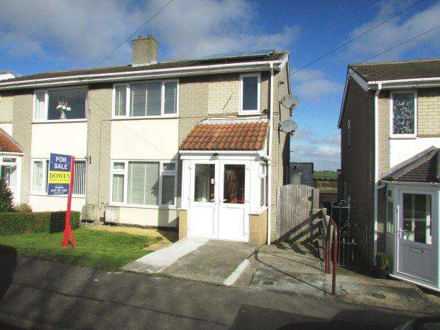 2 Bedrooms Semi Detached House for sale in STATION ESTATE NORTH, MURTON, SEAHAM DISTRICT