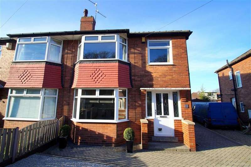 3 Bedrooms Semi Detached House for sale in Baronsway, Leeds