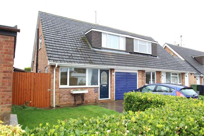 3 Bedrooms Semi Detached House for sale in Wallwin Close, Roade, Northampton