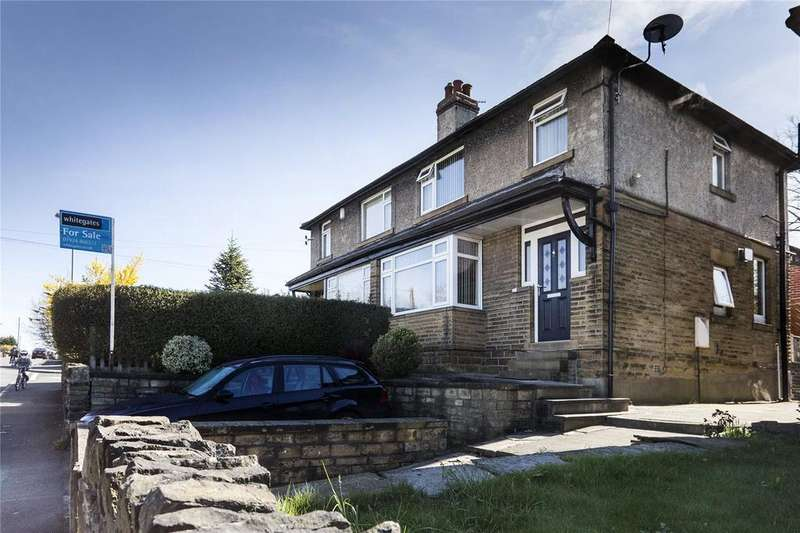 3 Bedrooms Semi Detached House for sale in Stockhill Street, Westborough, Dewsbury, West Yorkshire, WF13
