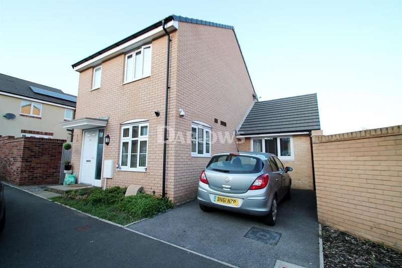3 Bedrooms Detached House for sale in Brython Drive, St Mellons, Cardiff