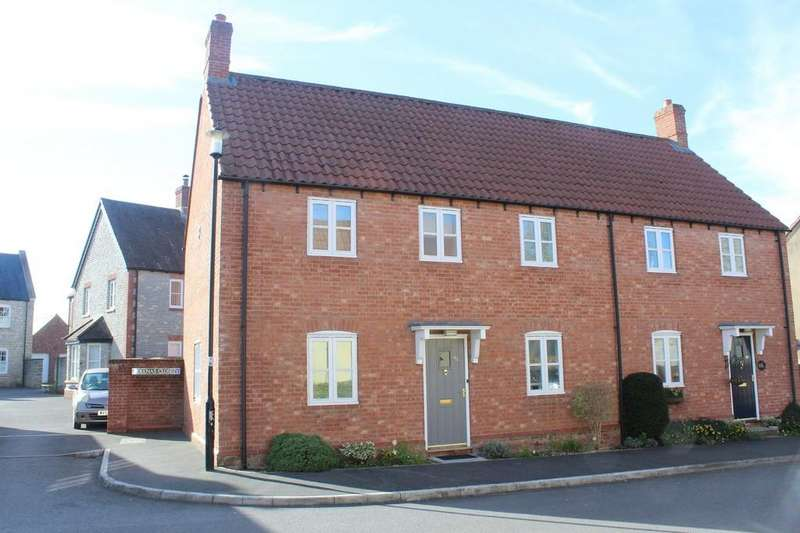 3 Bedrooms Semi Detached House for sale in Little Brooks Lane, Shepton Mallet